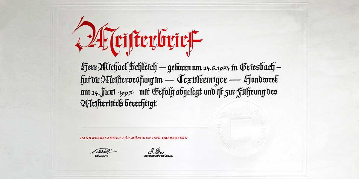 Mitgliedschaften   Reinigung Stark München