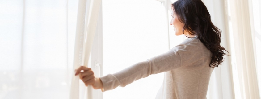 Vorhänge und Gardinen reinigen lassen | Gardinen Hol- und Bring-Service